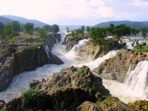 Hoggenakal Falls South India Kaveri River