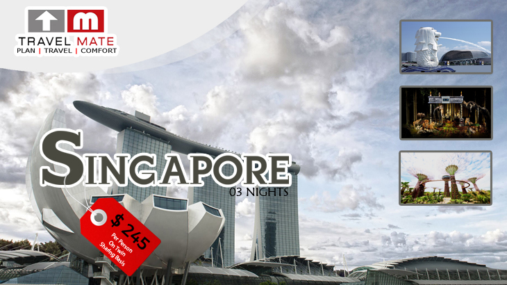3 nights singapore package