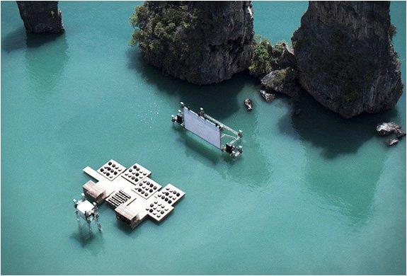 Floating Archipelago Cinema