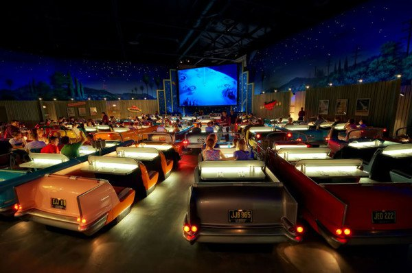 Sci-Fi dine in theatre in Disney Hollywood studios