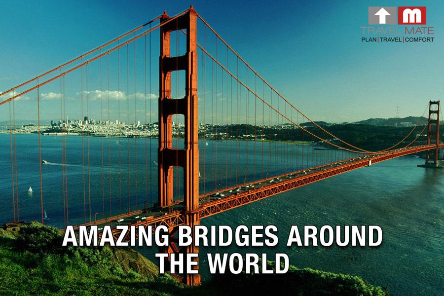 Bridges around the world travel mate