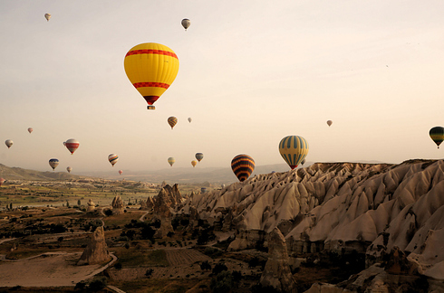 Ancient Region of Anatolia in Cappadocia, Turkey (2)