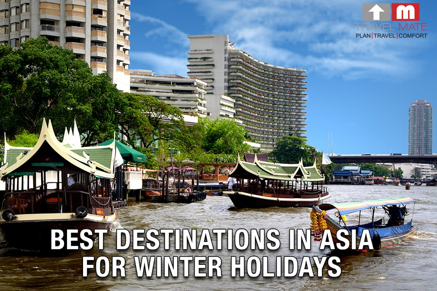Best destinations in Asia For Winter Holidays