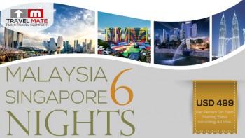 Malaysia Singapore 6 Nights Package