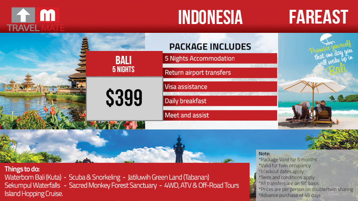 Indonesia Tour Package Travel Mate