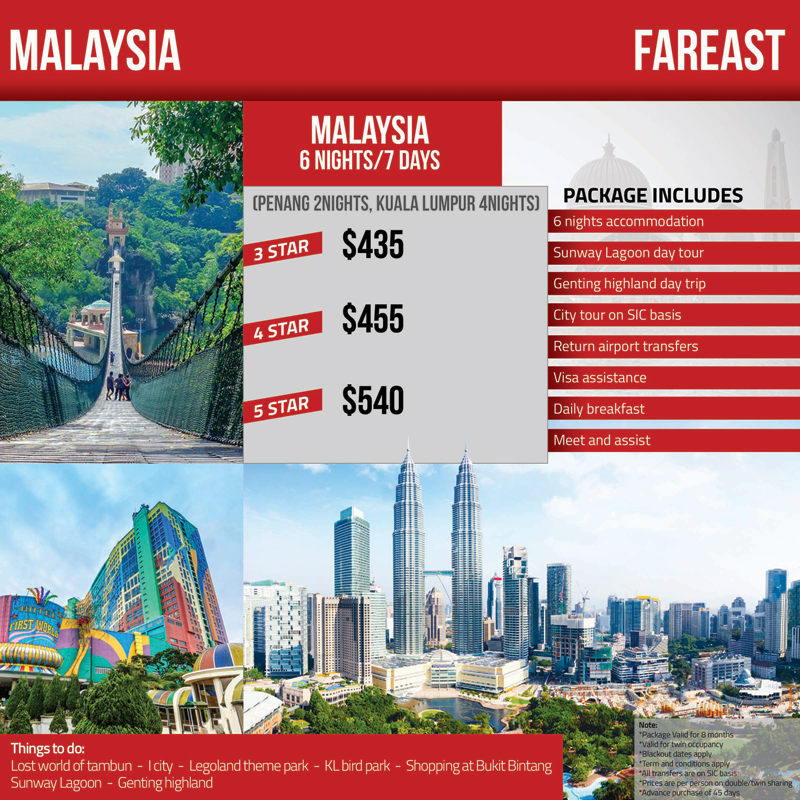 Malaysia Tour Package Travel Mate