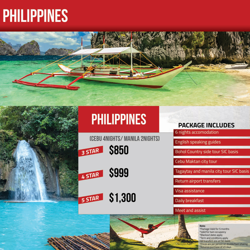 Philippines Tour Package Travel Mate