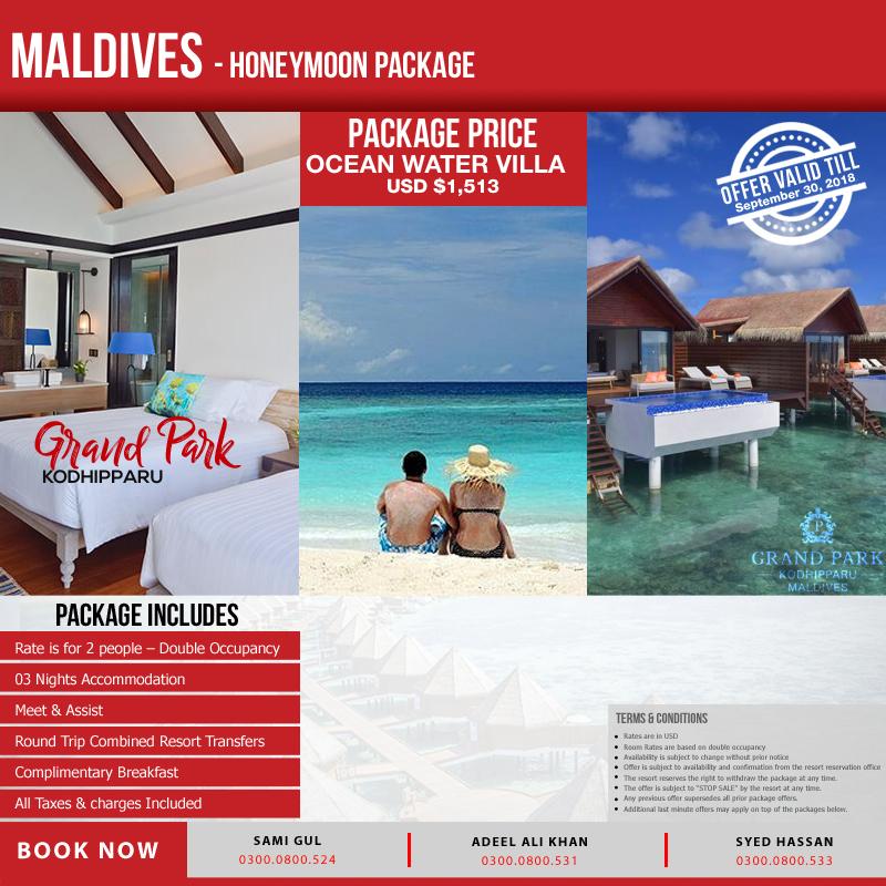 Ocean Water Villa Maldives Honeymoon Travel Mate